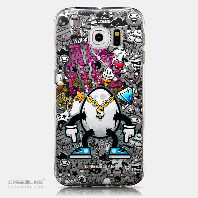 CASEiLIKE Samsung Galaxy S6 Edge back cover Graffiti 2704
