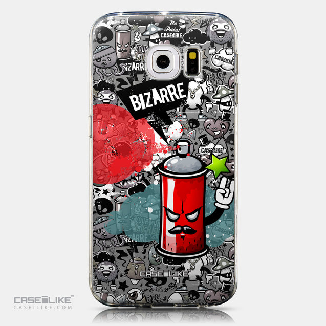 CASEiLIKE Samsung Galaxy S6 Edge back cover Graffiti 2705