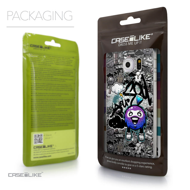 Packaging - CASEiLIKE Samsung Galaxy S6 Edge back cover Graffiti 2706