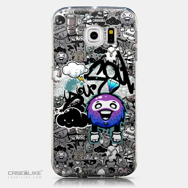 CASEiLIKE Samsung Galaxy S6 Edge back cover Graffiti 2706