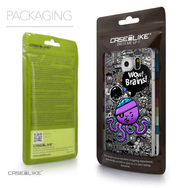 Packaging - CASEiLIKE Samsung Galaxy S6 Edge back cover Graffiti 2707
