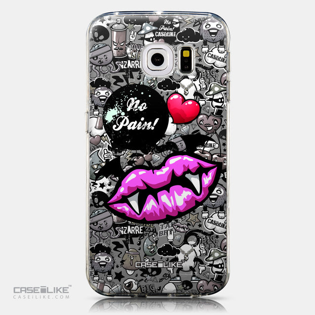 CASEiLIKE Samsung Galaxy S6 Edge back cover Graffiti 2708