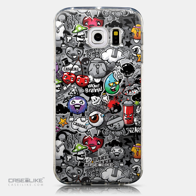 CASEiLIKE Samsung Galaxy S6 Edge back cover Graffiti 2709