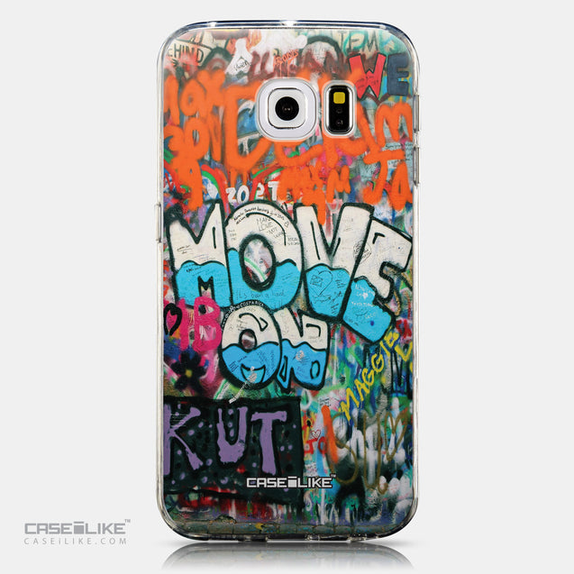 CASEiLIKE Samsung Galaxy S6 Edge back cover Graffiti 2722