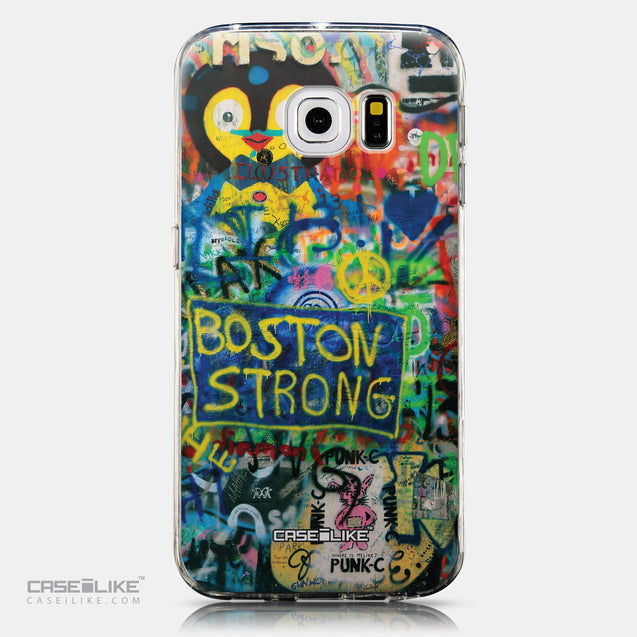 CASEiLIKE Samsung Galaxy S6 Edge back cover Graffiti 2723