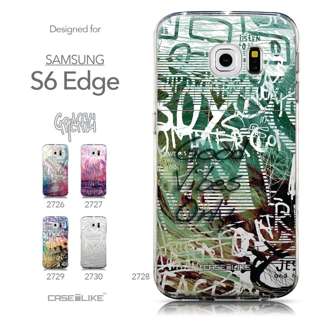 Collection - CASEiLIKE Samsung Galaxy S6 Edge back cover Graffiti 2728