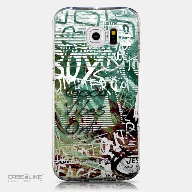 CASEiLIKE Samsung Galaxy S6 Edge back cover Graffiti 2728