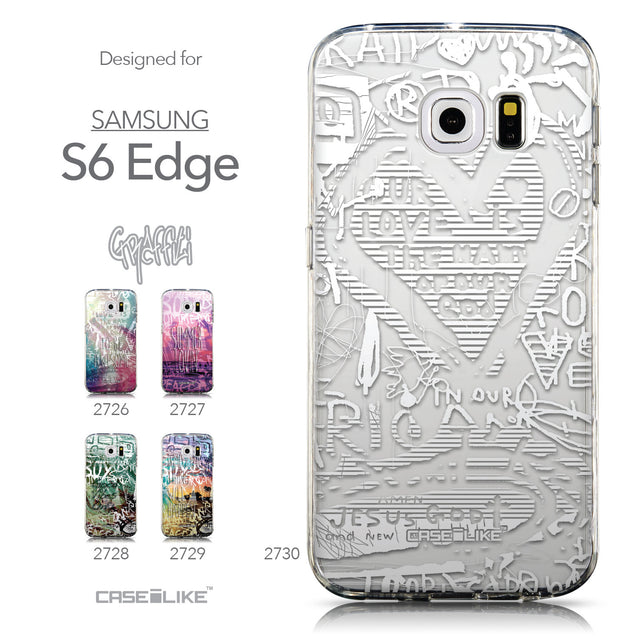 Collection - CASEiLIKE Samsung Galaxy S6 Edge back cover Graffiti 2730