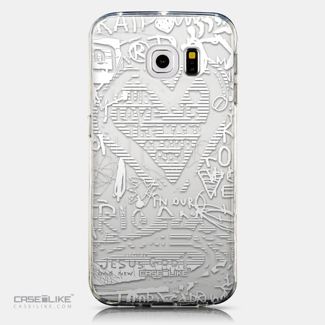 CASEiLIKE Samsung Galaxy S6 Edge back cover Graffiti 2730
