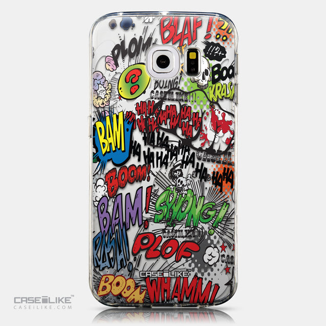 CASEiLIKE Samsung Galaxy S6 Edge back cover Comic Captions 2914