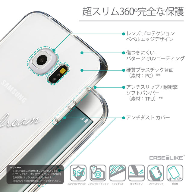 Details in Japanese - CASEiLIKE Samsung Galaxy S6 Edge back cover Owl Graphic Design 3314