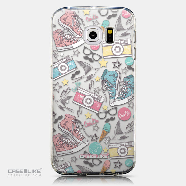 CASEiLIKE Samsung Galaxy S6 Edge back cover Paris Holiday 3906