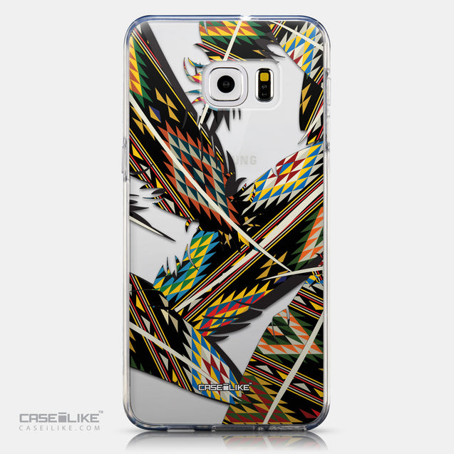 CASEiLIKE Samsung Galaxy S6 Edge Plus back cover Indian Tribal Theme Pattern 2053