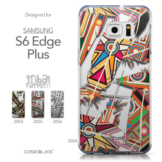 Collection - CASEiLIKE Samsung Galaxy S6 Edge Plus back cover Indian Tribal Theme Pattern 2054