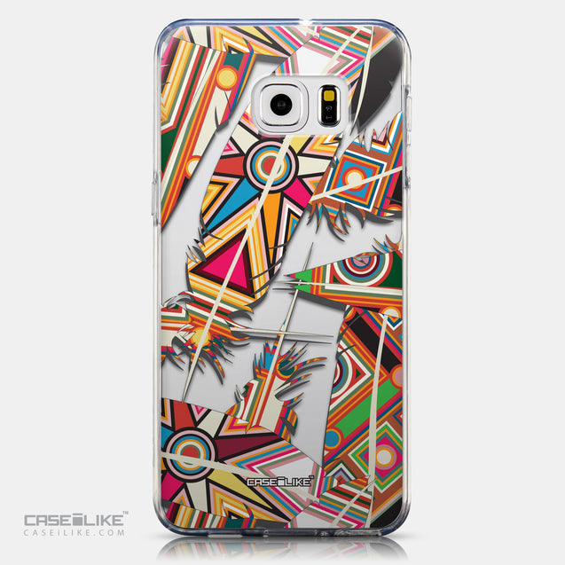 CASEiLIKE Samsung Galaxy S6 Edge Plus back cover Indian Tribal Theme Pattern 2054