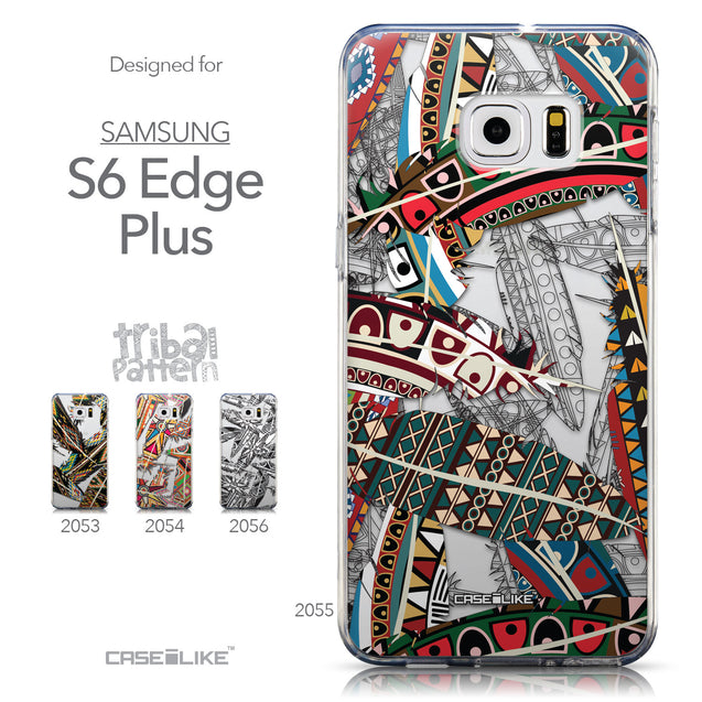 Collection - CASEiLIKE Samsung Galaxy S6 Edge Plus back cover Indian Tribal Theme Pattern 2055