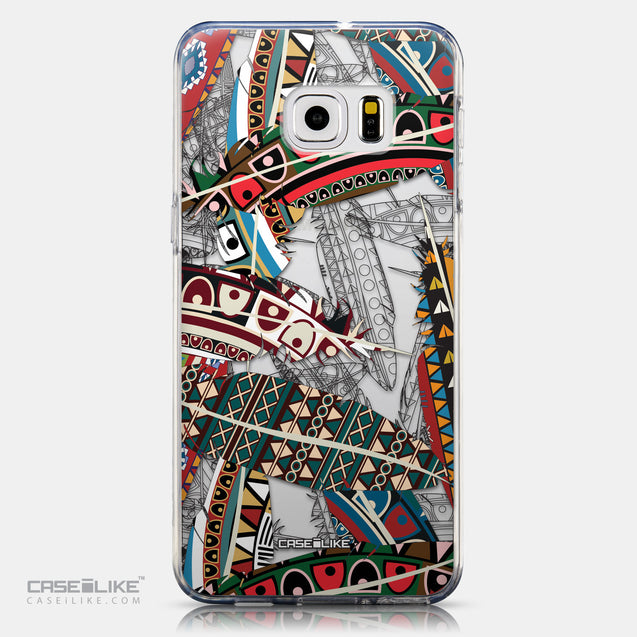 CASEiLIKE Samsung Galaxy S6 Edge Plus back cover Indian Tribal Theme Pattern 2055