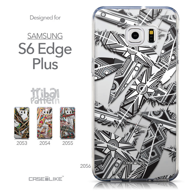 Collection - CASEiLIKE Samsung Galaxy S6 Edge Plus back cover Indian Tribal Theme Pattern 2056