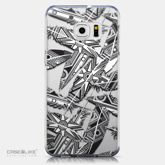 CASEiLIKE Samsung Galaxy S6 Edge Plus back cover Indian Tribal Theme Pattern 2056