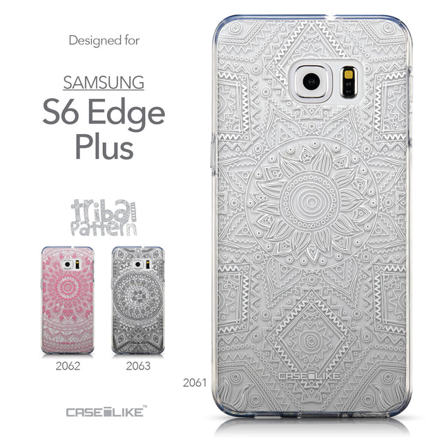 Collection - CASEiLIKE Samsung Galaxy S6 Edge Plus back cover Indian Line Art 2061