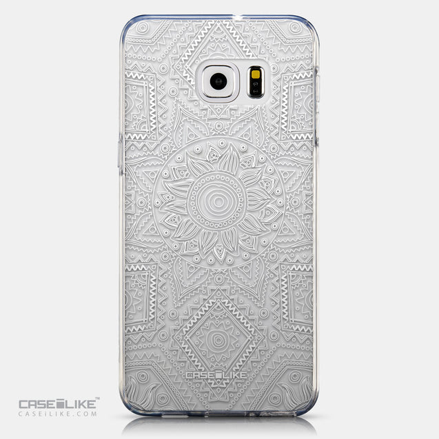 CASEiLIKE Samsung Galaxy S6 Edge Plus back cover Indian Line Art 2061