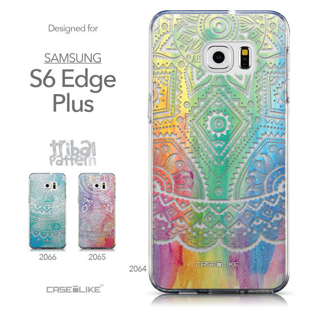 Collection - CASEiLIKE Samsung Galaxy S6 Edge Plus back cover Indian Line Art 2064