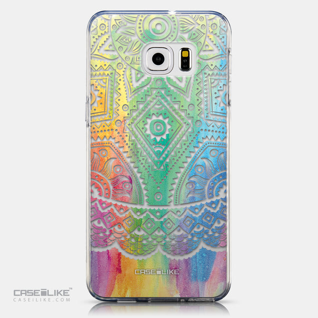 CASEiLIKE Samsung Galaxy S6 Edge Plus back cover Indian Line Art 2064