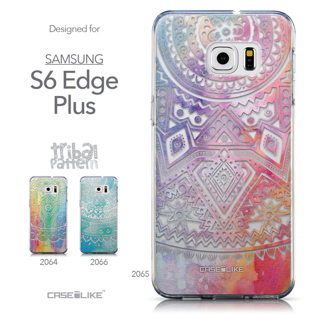 Collection - CASEiLIKE Samsung Galaxy S6 Edge Plus back cover Indian Line Art 2065