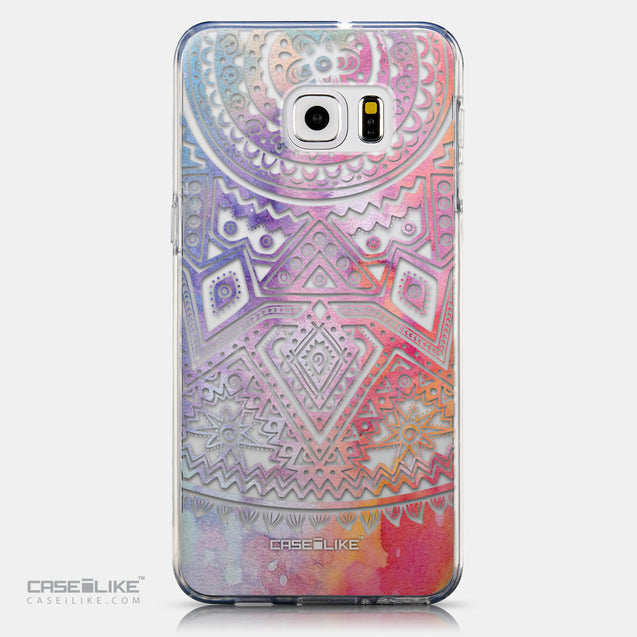 CASEiLIKE Samsung Galaxy S6 Edge Plus back cover Indian Line Art 2065