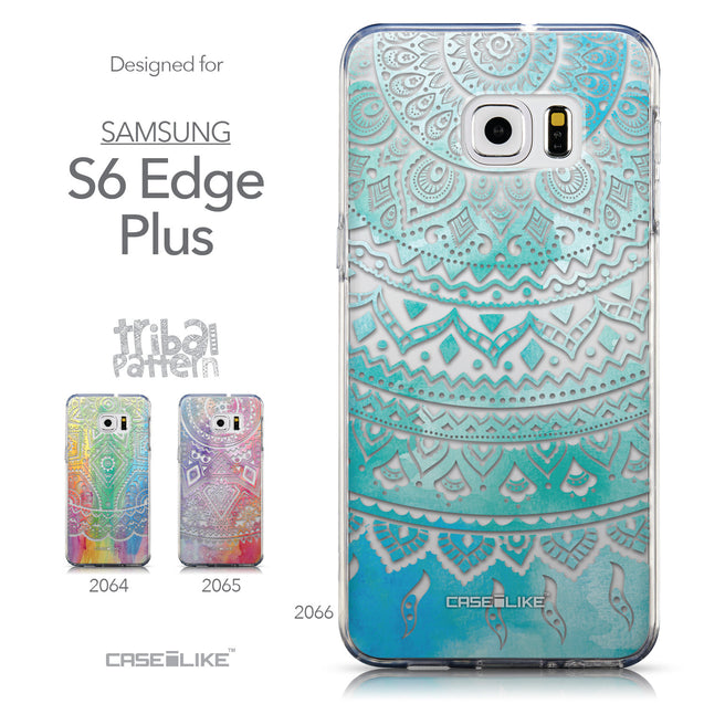 Collection - CASEiLIKE Samsung Galaxy S6 Edge Plus back cover Indian Line Art 2066