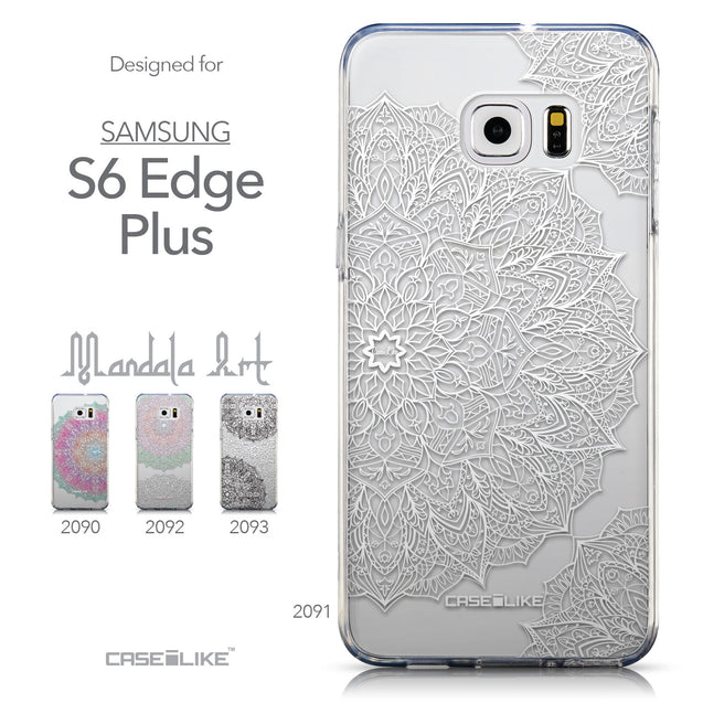 Collection - CASEiLIKE Samsung Galaxy S6 Edge Plus back cover Mandala Art 2091