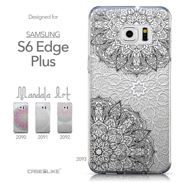 Collection - CASEiLIKE Samsung Galaxy S6 Edge Plus back cover Mandala Art 2093