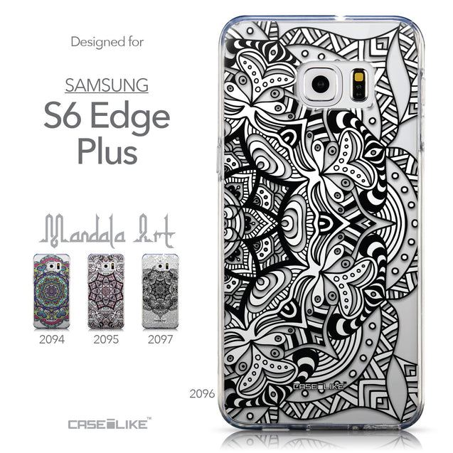 Collection - CASEiLIKE Samsung Galaxy S6 Edge Plus back cover Mandala Art 2096