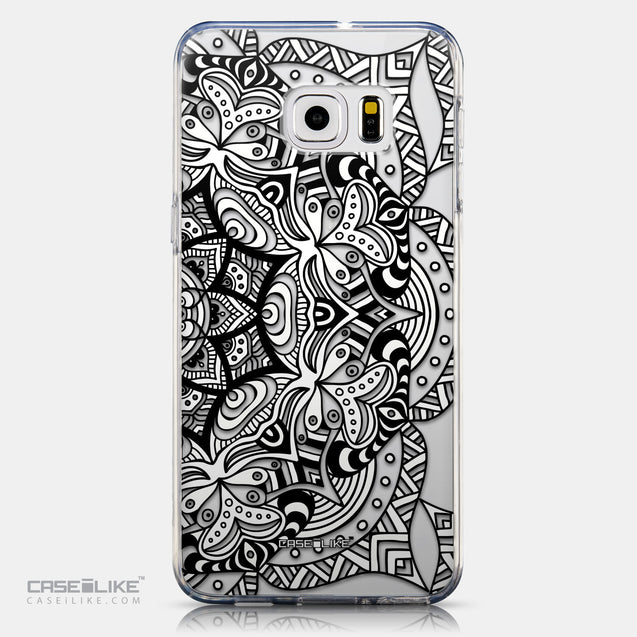 CASEiLIKE Samsung Galaxy S6 Edge Plus back cover Mandala Art 2096