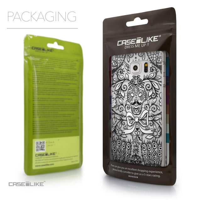 Packaging - CASEiLIKE Samsung Galaxy S6 Edge Plus back cover Roses Ornamental Skulls Peacocks 2227