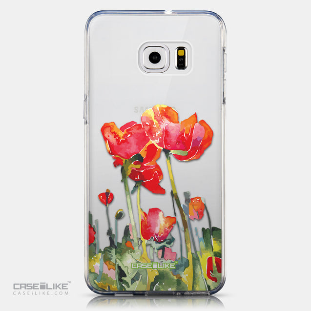 CASEiLIKE Samsung Galaxy S6 Edge Plus back cover Watercolor Floral 2230