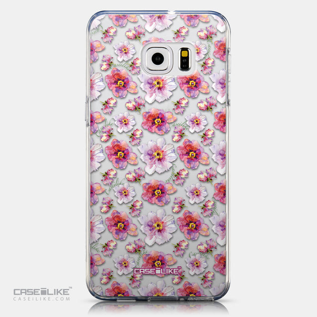 CASEiLIKE Samsung Galaxy S6 Edge Plus back cover Watercolor Floral 2232