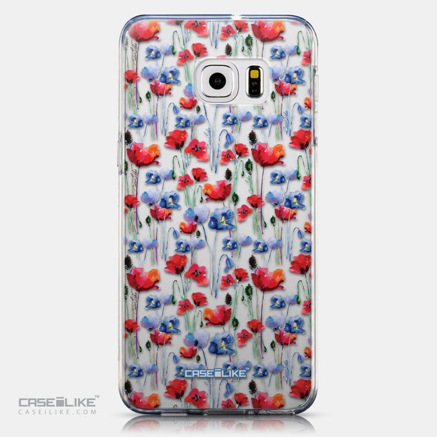 CASEiLIKE Samsung Galaxy S6 Edge Plus back cover Watercolor Floral 2233