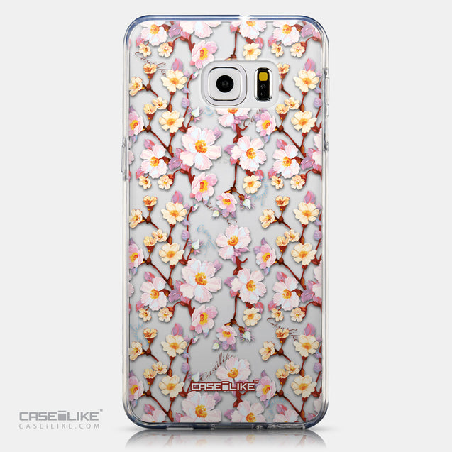 CASEiLIKE Samsung Galaxy S6 Edge Plus back cover Watercolor Floral 2236