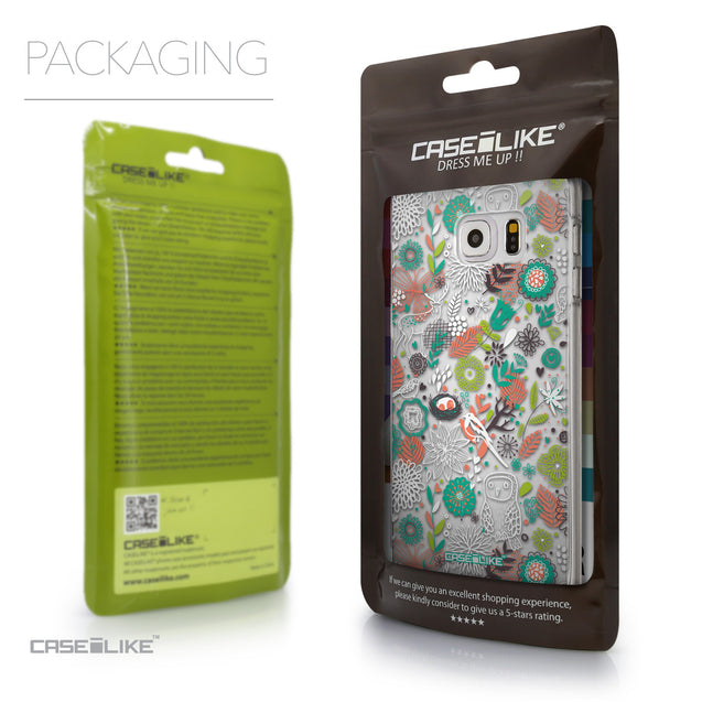 Packaging - CASEiLIKE Samsung Galaxy S6 Edge Plus back cover Spring Forest White 2241