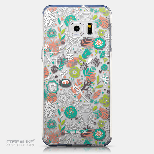 CASEiLIKE Samsung Galaxy S6 Edge Plus back cover Spring Forest White 2241