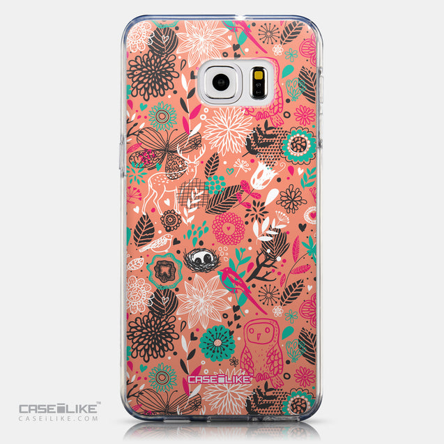 CASEiLIKE Samsung Galaxy S6 Edge Plus back cover Spring Forest Pink 2242