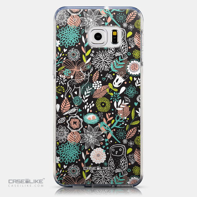 CASEiLIKE Samsung Galaxy S6 Edge Plus back cover Spring Forest Black 2244
