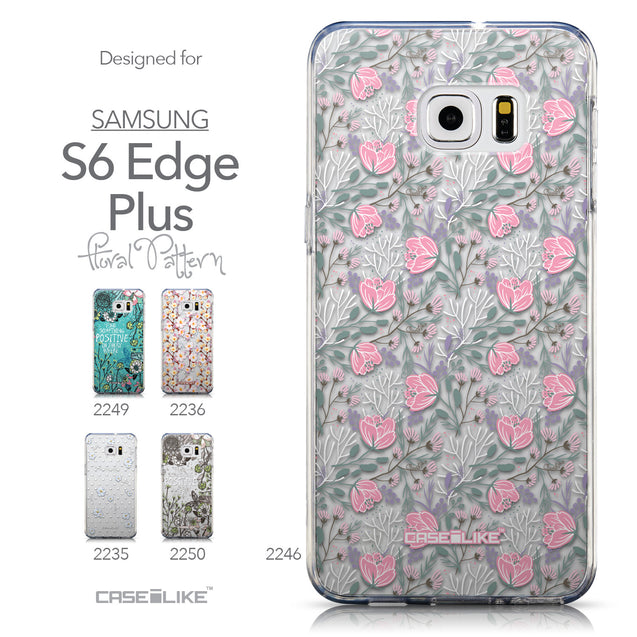 Collection - CASEiLIKE Samsung Galaxy S6 Edge Plus back cover Flowers Herbs 2246
