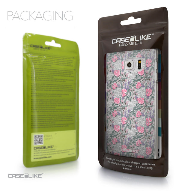 Packaging - CASEiLIKE Samsung Galaxy S6 Edge Plus back cover Flowers Herbs 2246