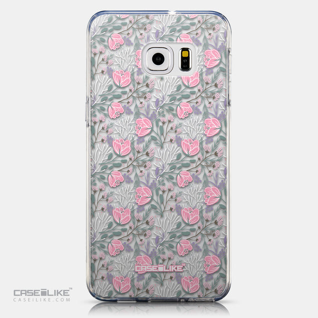 CASEiLIKE Samsung Galaxy S6 Edge Plus back cover Flowers Herbs 2246