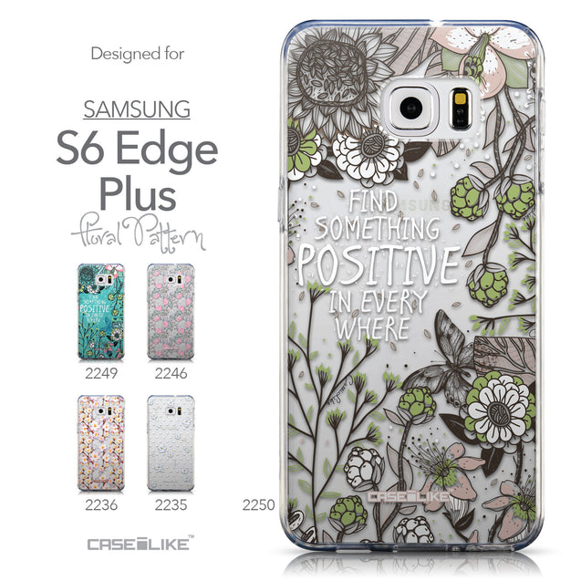 Collection - CASEiLIKE Samsung Galaxy S6 Edge Plus back cover Blooming Flowers 2250