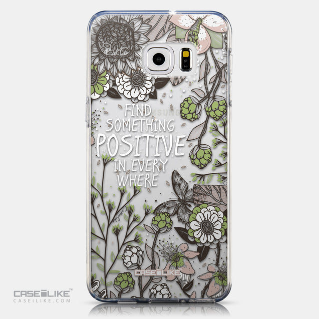 CASEiLIKE Samsung Galaxy S6 Edge Plus back cover Blooming Flowers 2250