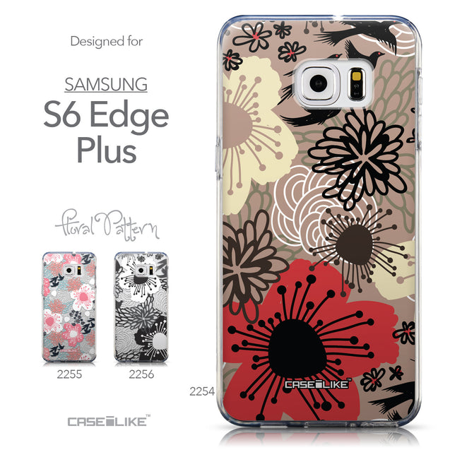 Collection - CASEiLIKE Samsung Galaxy S6 Edge Plus back cover Japanese Floral 2254
