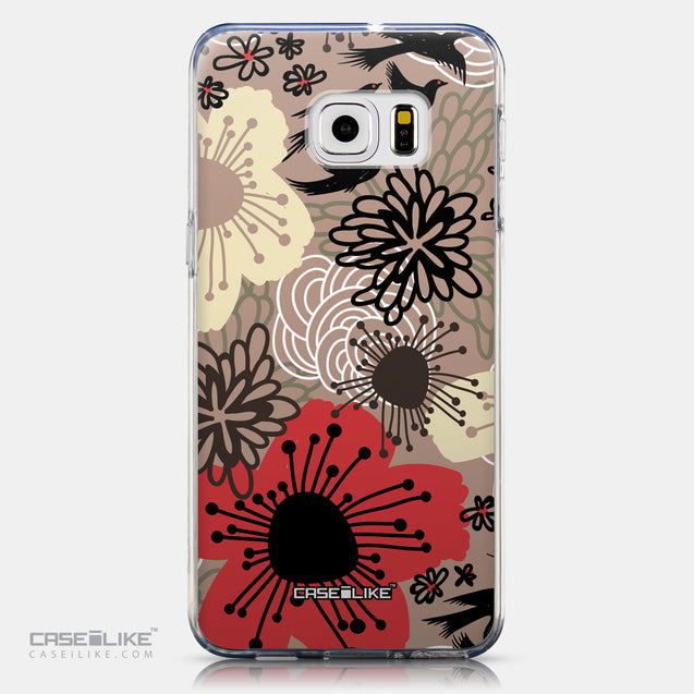 CASEiLIKE Samsung Galaxy S6 Edge Plus back cover Japanese Floral 2254